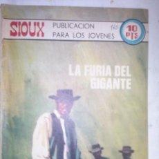 Tebeos: SIOUX - Nº 165 -LA FURIA DEL GIGANTE - 1970- GRAN ANTONIO BORRELL- BUENO- MUY DIFÍCIL- LEAN- 0760. Lote 159303794
