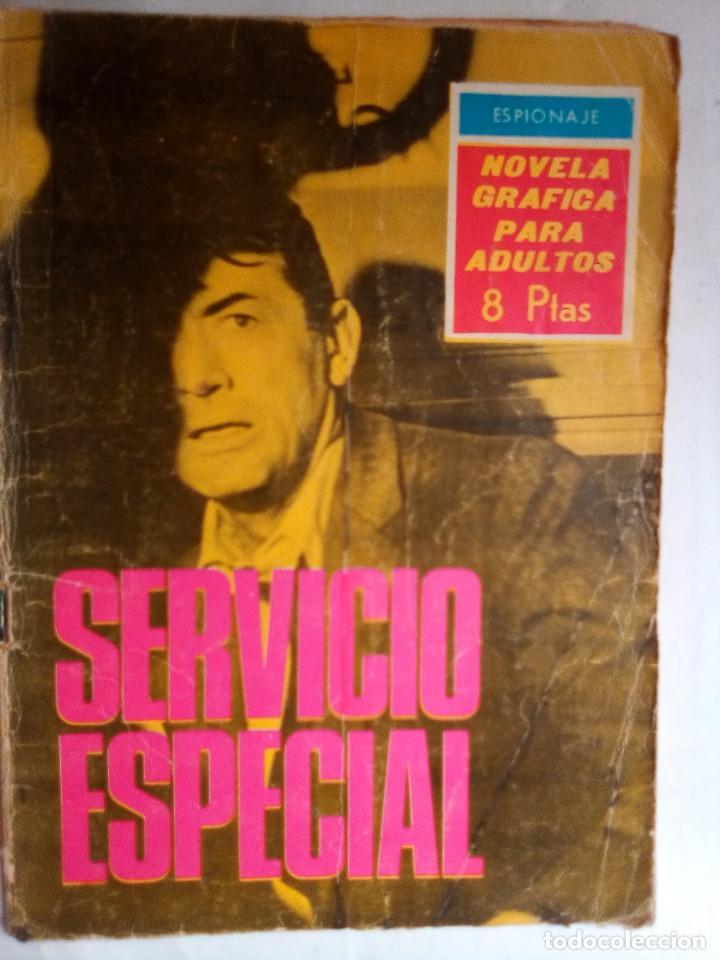 ESPIONAJE- Nº 30 - SERVICIO ESPECIAL- 1966-CURIOSO JOSÉ JULVE- CORRECTO-DIFÍCIL-LEAN-0770 (Tebeos y Comics - Toray - Espionaje)
