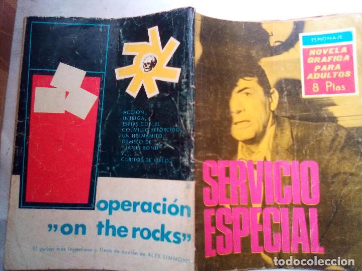 Tebeos: ESPIONAJE- Nº 30 - SERVICIO ESPECIAL- 1966-CURIOSO JOSÉ JULVE- CORRECTO-DIFÍCIL-LEAN-0770 - Foto 2 - 159524370