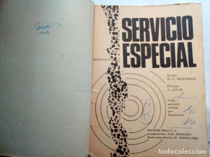 Tebeos: ESPIONAJE- Nº 30 - SERVICIO ESPECIAL- 1966-CURIOSO JOSÉ JULVE- CORRECTO-DIFÍCIL-LEAN-0770 - Foto 5 - 159524370