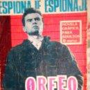 Tebeos: ESPIONAJE - Nº 44 -ORFEO 007 - GRAN CARLOS PRUNÉS-1966-REGULAR- MUY DIFÍCIL-LEAN-0771. Lote 159527418