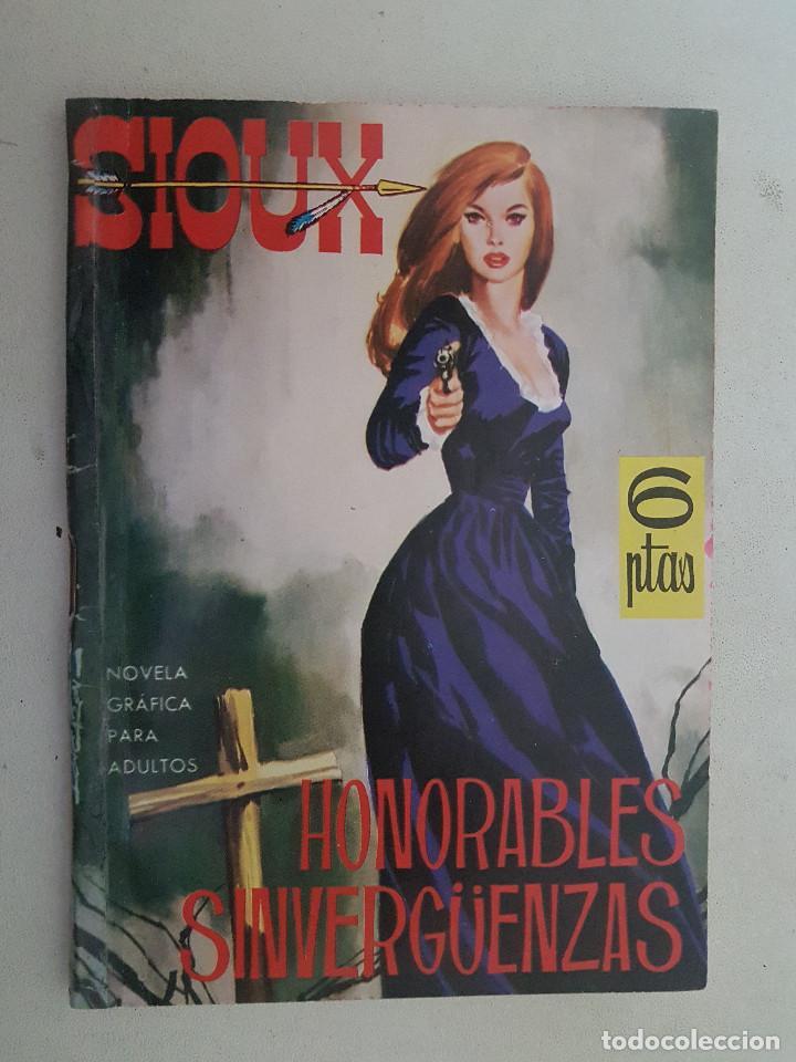 SIOUX. Nº 3. DIBUJOS JOSE DUARTE. TORAY. (Tebeos y Comics - Toray - Sioux)