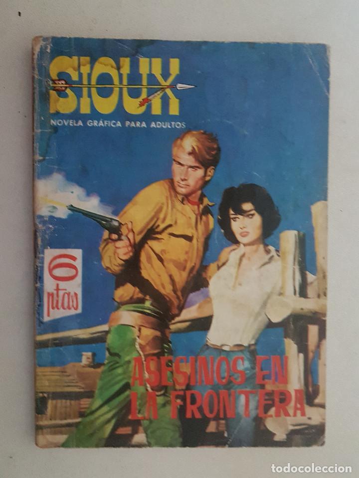 SIOUX. Nº 2. TORAY. (Tebeos y Comics - Toray - Sioux)