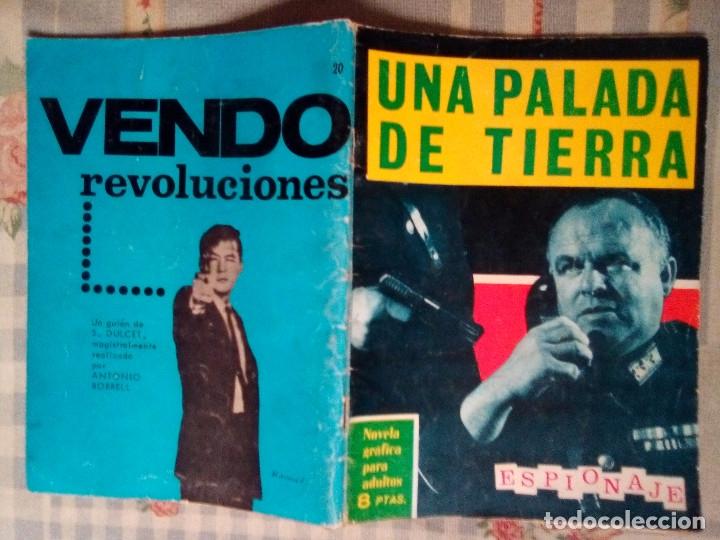 Tebeos: ESPIONAJE - Nº 20 -UNA PALADA DE TIERRA - GRAN JORGE BADÍA-1965-BUENO- ESCASO-DIFÍCIL-LEAN-0813 - Foto 2 - 159778296