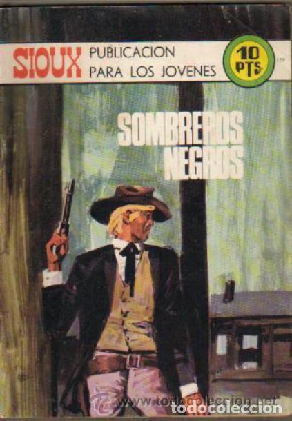 Tebeos: SIOUX - Nº 179 -SOMBREROS NEGROS - 1971- GRAN JOSÉ DUARTE-MUY BUENO- MUY DIFÍCIL- LEAN- 0815 - Foto 5 - 159785310