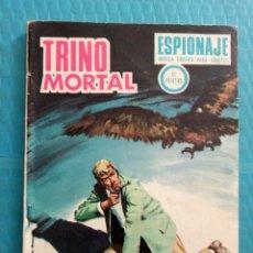 Comics - TRINO MORTAL AÑO 1967 EDICIONES TORAY ESPIONAJE NOVELA GRÁFICA PARA ADULTOS 10 PESETAS - 160143868