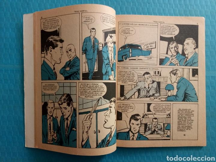 Tebeos: TRINO MORTAL AÑO 1967 EDICIONES TORAY ESPIONAJE NOVELA GRÁFICA PARA ADULTOS 10 PESETAS - Foto 5 - 160143868