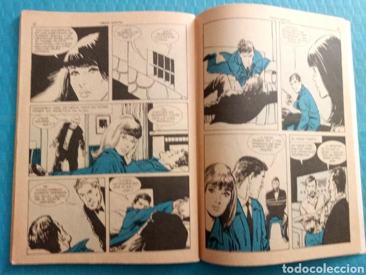 Tebeos: TRINO MORTAL AÑO 1967 EDICIONES TORAY ESPIONAJE NOVELA GRÁFICA PARA ADULTOS 10 PESETAS - Foto 6 - 160143868
