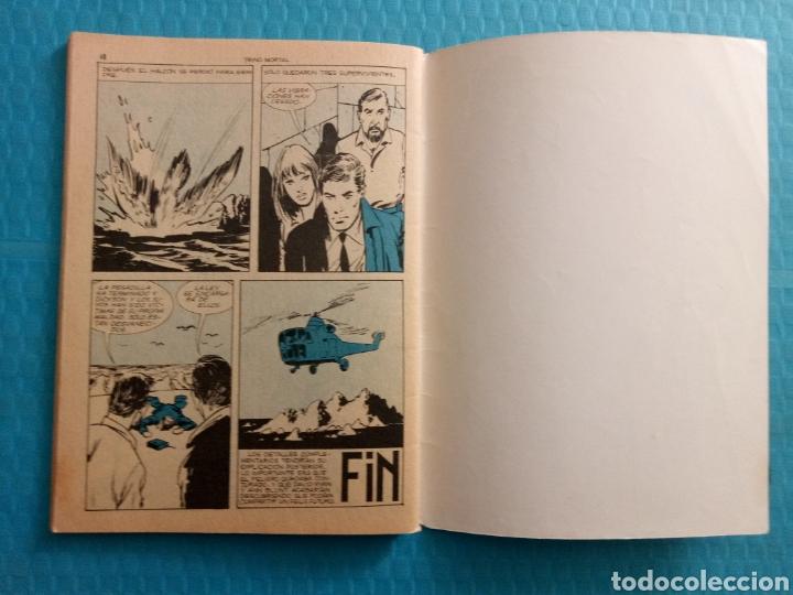 Tebeos: TRINO MORTAL AÑO 1967 EDICIONES TORAY ESPIONAJE NOVELA GRÁFICA PARA ADULTOS 10 PESETAS - Foto 9 - 160143868