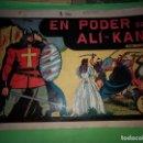 Tebeos: EN EL PODER DE ALI-KAN -M.GAGO ORIGINAL DE 75 CTMS EDITORIAL VALENCIANA . Lote 160179630