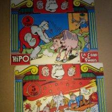 Tebeos: HIPO MONITO Y FIFI - NUMEROS 3-4 - ORIGINAL AÑO 1962 ED. MARCO. Lote 160180154