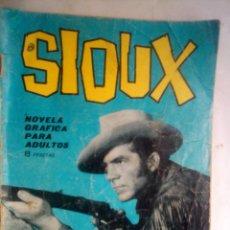 Tebeos: SIOUX- Nº 32 -CÍRCULO DE FUEGO- 1965-GRAN A. PÉREZ-BUENO-DIFÍCIL-LEAN-0842. Lote 160183362