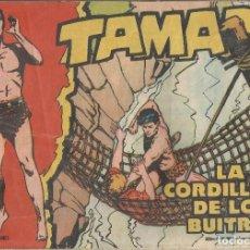 Tebeos: TAMAR Nº 12 - LA CORDILLERA DE LOS BUITRES AÑO 1961 ORIGINAL. Lote 160197430