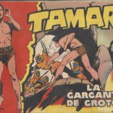 Tebeos: TAMAR Nº 18 - LA GARGANTA DE GROTON AÑO 1961 - ORIGINAL. Lote 160197446
