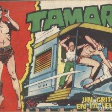 Tebeos: TAMAR Nº 24 - UN GRITO EN LA SELVA AÑO 1961 - ORIGINAL. Lote 160197454