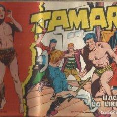 Tebeos: TAMAR Nº 27 - HACIA LA LIBERTAD AÑO 1961 - ORIGINAL. Lote 160197466