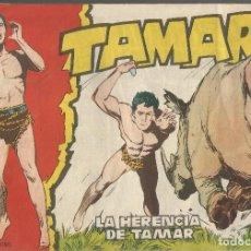 Tebeos: TAMAR Nº 33 - LA HERENCIA DE TAMAR AÑO 1961 - ORIGINAL. Lote 160197558