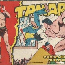 Tebeos: TAMAR Nº 37 - CUMPLIENDO JUSTICIA AÑO 1961 - ORIGINAL. Lote 160197586