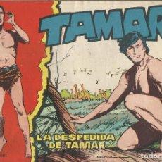 Tebeos: TAMAR Nº 38 - LA DESPEDIDA DE TAMAR AÑO 1961 - ORIGINAL. Lote 160197606