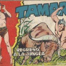 Tebeos: TAMAR Nº 39 - REGRESO A LA JUNGLA AÑO 1961 - ORIGINAL. Lote 160197626