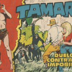 Tebeos: TAMAR Nº 50 - DUELO CONTRA IMPOSIBLE AÑO 1961 ORIGINAL. Lote 160199806