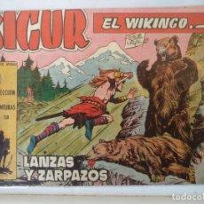 Tebeos: SIGUR EL VIKINGO Nº 9 TORAY. Lote 160385454
