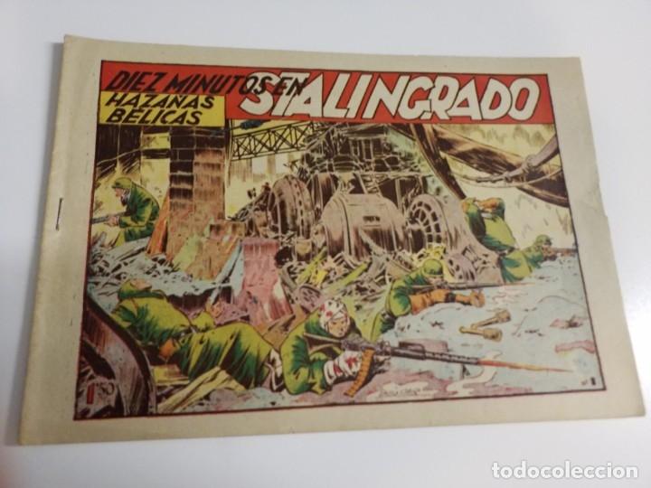 HAZAÑAS BELICAS 1 SERIE 2 DIEZ MINUTOS EN STALINGRADO TORAY BUEN ESTADO (Tebeos y Comics - Toray - Hazañas Bélicas)