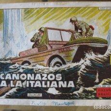Tebeos: HAZAÑAS BELICAS - CAÑONAZOS A LA ITALIANA Nº254. Lote 160455138