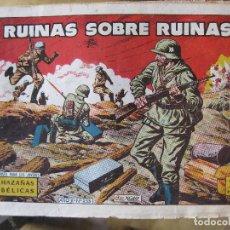 Tebeos: HAZAÑAS BELICAS - RUINAS SOBRE RUINAS Nº253. Lote 160455282