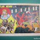 Tebeos: YELMO NEGRO (1947, TORAY) 4 · 1947 · EL RAPTO. Lote 160512598