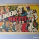 Tebeos: YELMO NEGRO (1947, TORAY) 2 · 1947 · CONDENADO A MUERTE. Lote 160513458