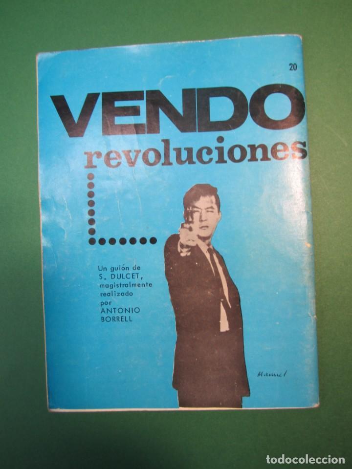Tebeos: ESPIONAJE (1965, TORAY) 20 · 1966 · UNA PALADA DE TIERRA - Foto 2 - 160572942