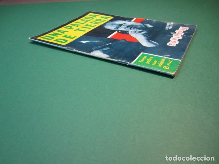 Tebeos: ESPIONAJE (1965, TORAY) 20 · 1966 · UNA PALADA DE TIERRA - Foto 3 - 160572942