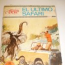 Tebeos: EL ÚLTIMO SAFARI Nº 5. 1970 (EN ESTADO NORMAL). Lote 160631530