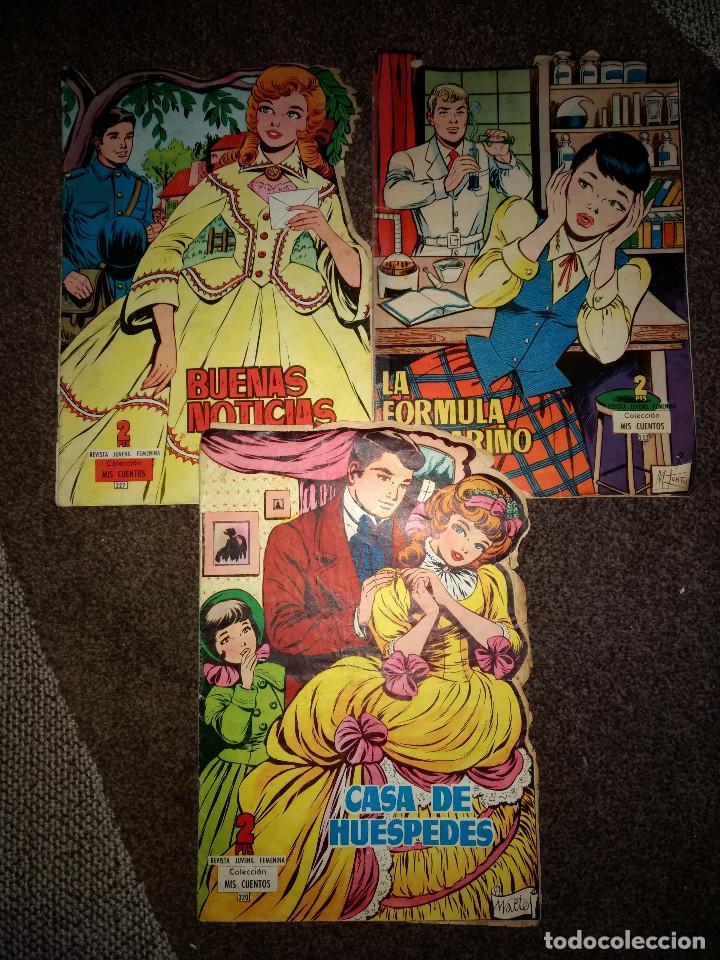 LOTE 3 COLECCION MIS CUENTOS TROQUELADO ORIGINALES AÑO 1960-1 (Tebeos y Comics - Toray - Otros)