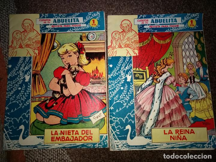 LOTE 2 CUENTOS DE LA ABUELITA BIEN CONSERVADOS ORIGINALES AÑO 1960-1 (Tebeos y Comics - Toray - Otros)