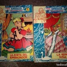 Tebeos: LOTE 2 CUENTOS DE LA ABUELITA BIEN CONSERVADOS ORIGINALES AÑO 1960-1. Lote 160746158