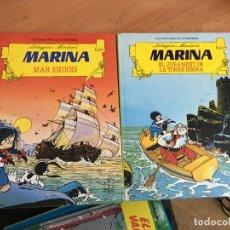 Tebeos: LA MARINA MAR ENDINS COMPLETA TOMOS 1 Y 2 TAPA DURA CATALAN TORAY 1987 (COIM26). Lote 161177874