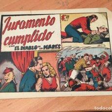 Tebeos: EL DIABLO DE LOS MARES Nº 68 JURAMENTO CUMPLIDO (ORIGINAL ED. TORAY) (COIM27). Lote 161506510