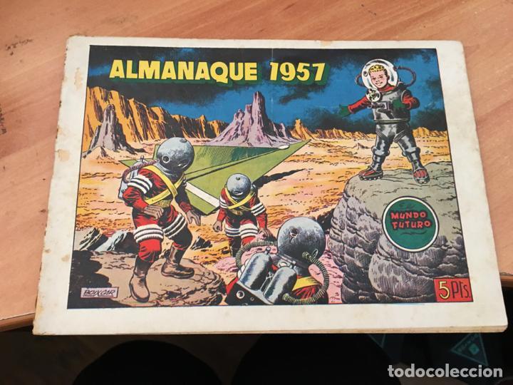 MUNDO FUTURO ALMANAQUE 1957 (ORIGINAL TORAY) (COIM27) (Tebeos y Comics - Toray - Mundo Futuro)