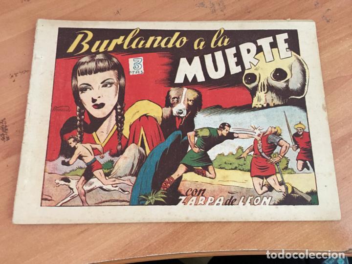 ZARPA DE LEON ALBUM IV 4 BURLANDO A LA MUERTE (ORIGINAL TORAY ) (COIM27) (Tebeos y Comics - Toray - Zarpa de León)