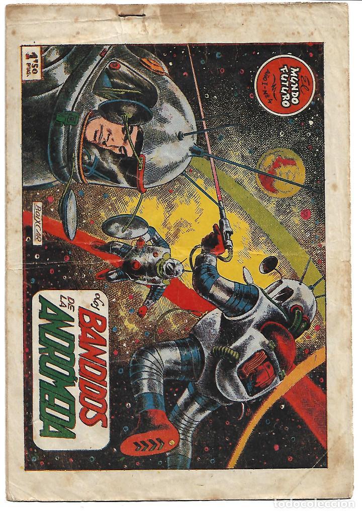 MUNDO FUTURO - ORIGINAL - 17 TEBEOS - SUELTOS PREGUNTAR ESTADO Y PRECIO (Tebeos y Comics - Toray - Mundo Futuro)