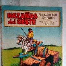 Tebeos: HAZAÑAS DEL OESTE - Nº 199 -JUAN ARRANZ-FERRÁN DELMÁS-F.SESÉN-1969-DIFÍCIL-CORRECTO-LEAN-0993. Lote 161844270