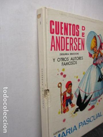 Tebeos: RISCAL.-CUENTOS DE ANDERSEN TORAY Nº 5 ILUSTRACIONES DE MARIA PASCUAL - Foto 3 - 213445153