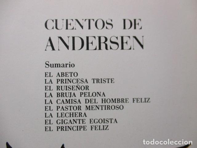 Tebeos: RISCAL.-CUENTOS DE ANDERSEN TORAY Nº 5 ILUSTRACIONES DE MARIA PASCUAL - Foto 16 - 213445153