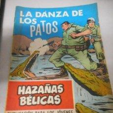 Tebeos: HAXAÑAS BELICAS LA DANZA DE LOS PATOS NUMERO 247. Lote 162071842