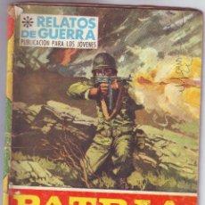 Tebeos: PATRIA DE ADOPCIÓN. Lote 162280998