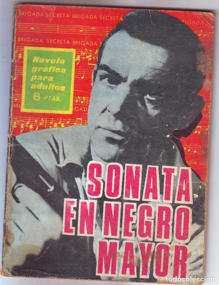 SONATA EN NEGRO MAYOR (Tebeos y Comics - Toray - Otros)