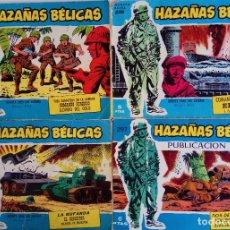 Tebeos: COLECCIÓN BÉLICAS Nº 231 EXTRA, 236 EXTRA, 263 EXTRA, 297 - TRES GANGSTERS EN LA ARMADA Y OTROS. Lote 162295506