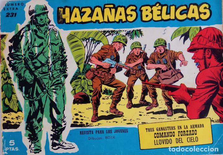 Tebeos: COLECCIÓN BÉLICAS Nº 231 EXTRA, 236 EXTRA, 263 EXTRA, 297 - TRES GANGSTERS EN LA ARMADA Y OTROS - Foto 2 - 162295506